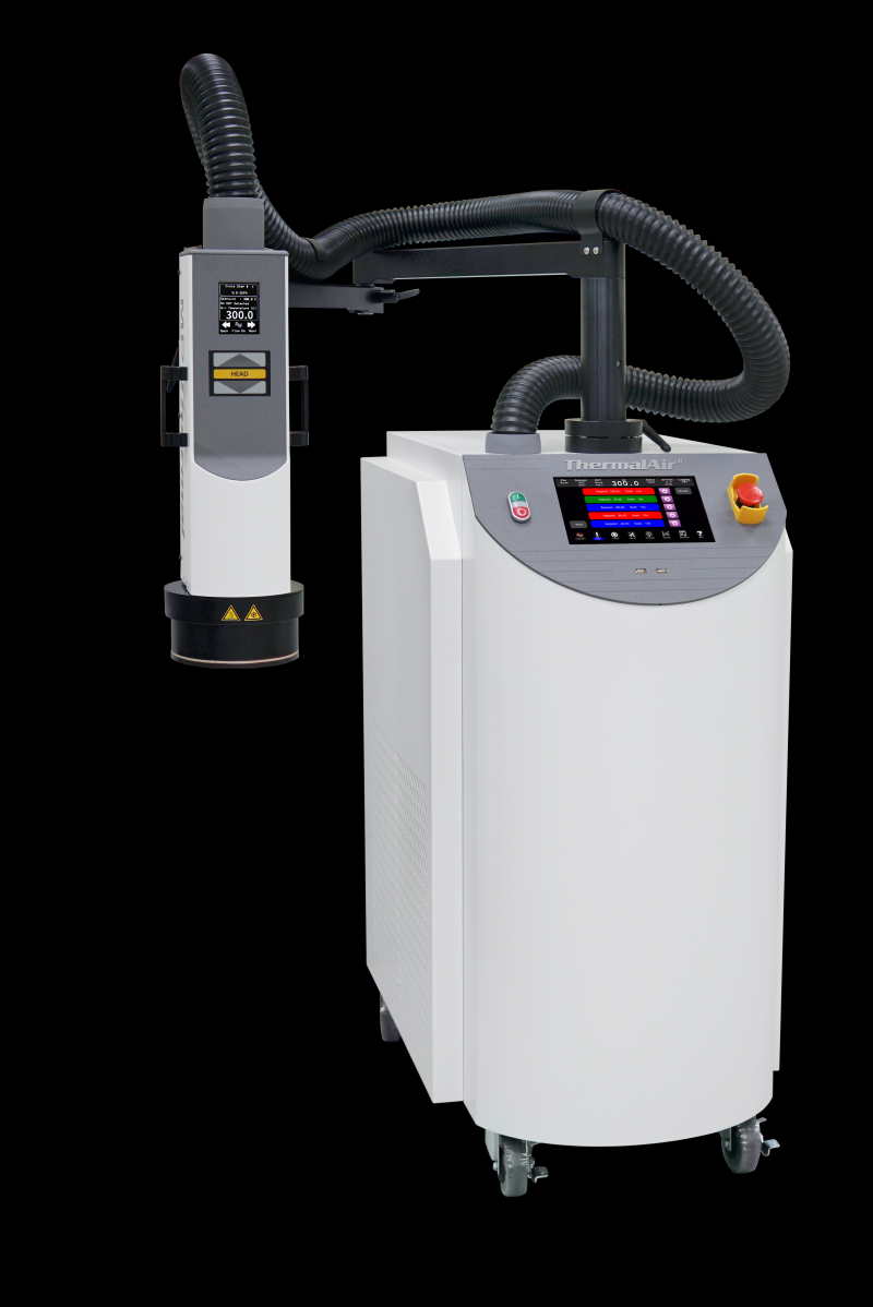 HIGH TEMP UP TO 300° - MPI Thermal launches NEW Thermal Air TA5000A-HT