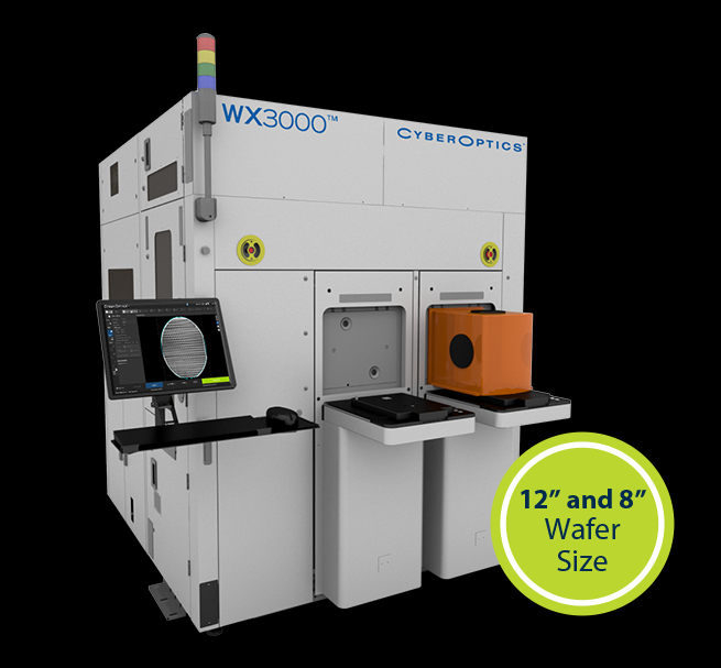 NEW WX3000™ Metrology & Inspection System for Wafer-Level & Advanced Packaging by Cyberoptics
