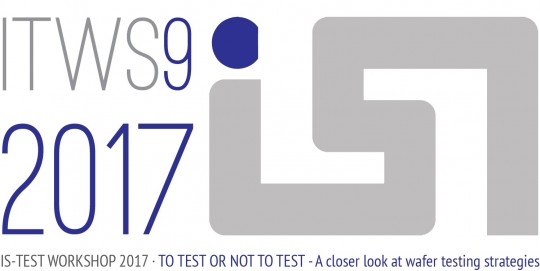 IS-Test Workshop will take place next week, May 15th and 16th!